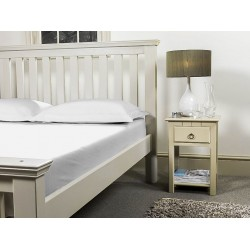 Flat Sheet - Ivory - UK Bed Sizes