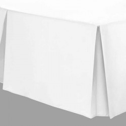 Large Emperor Base Valance - 100% Cotton - White or Ivory
