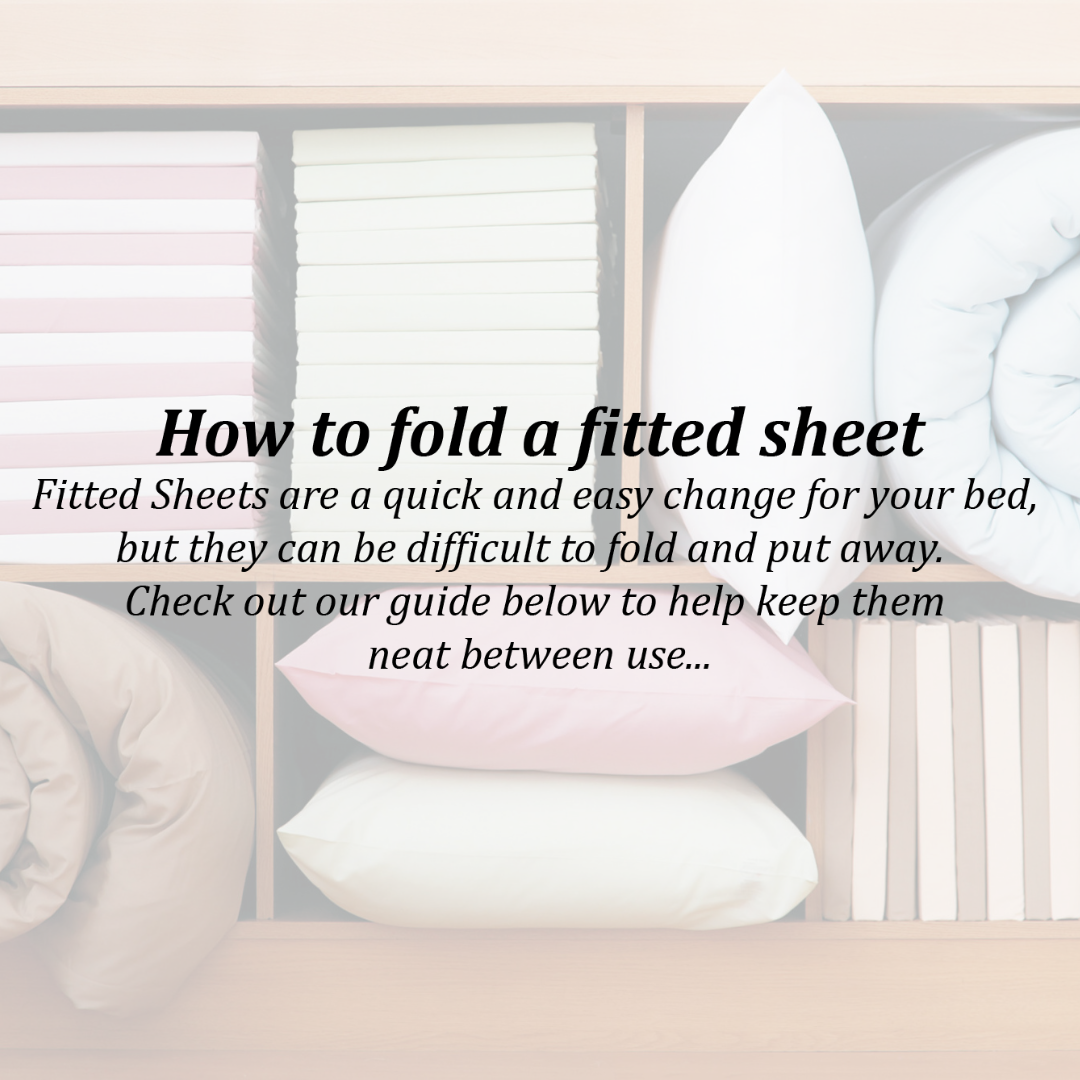How to fold a fitted sheet title